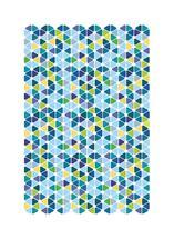Tile Flowers by Ashten Buxton