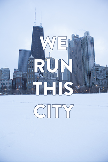 art prints - We Run This City by Ilana Griffo