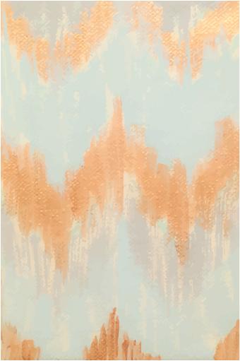 art prints - golden chevron by Leigh M