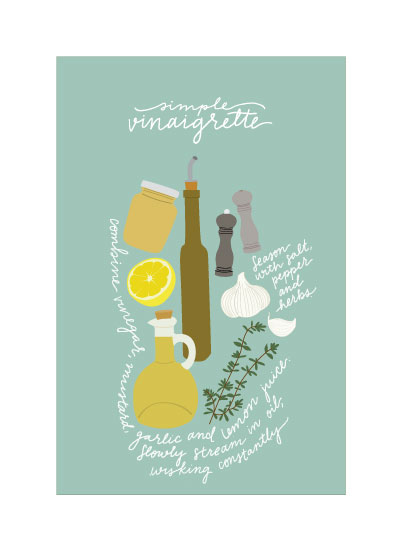 art prints - Vinaigrette by Bright Room Studio