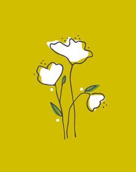 blanco flores