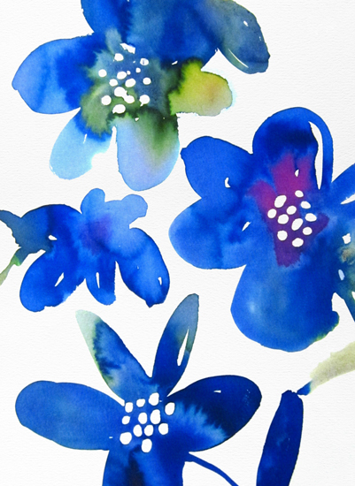 art prints - Bright Blooms by Agnes Pierscieniak