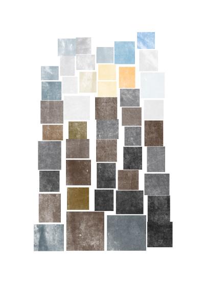 art prints - Cityscape Blocks by Lindsay Megahed