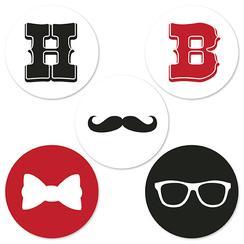 Mustache Happy Birthday