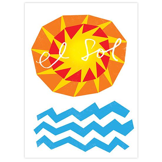 art prints - El Sol by John Coulter