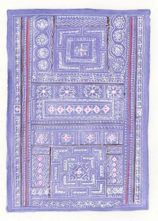 art prints - Hmong Batik by NomadicPoetryStudio