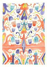 Uzbek Ikat by NomadicPoetryStudio