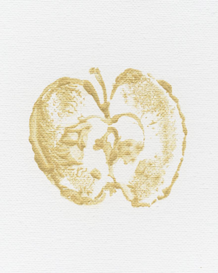 art prints - Golden Apple by Erin Deegan