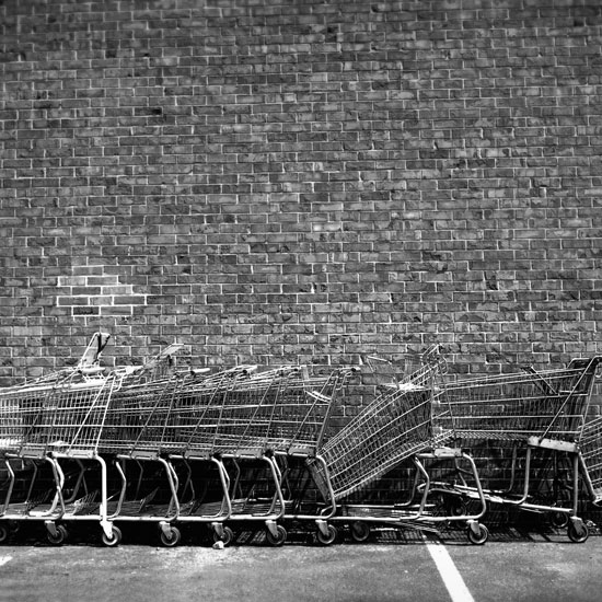 art prints - Shopping Trolleys by Julianna Boehm