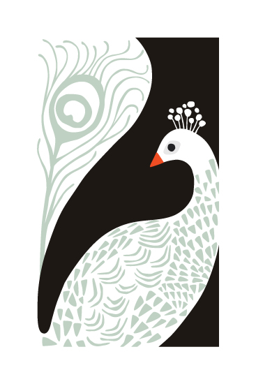 art prints - Bird of a Feather by Griffinbell Paper Co.