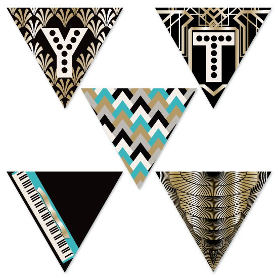 party decor - Art Deco by JaxRobyn