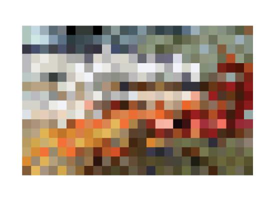 art prints - Mosaic Pixel by Shasta Knight