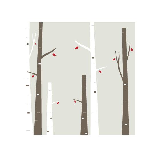 art prints - Birch by Lina Goldberg
