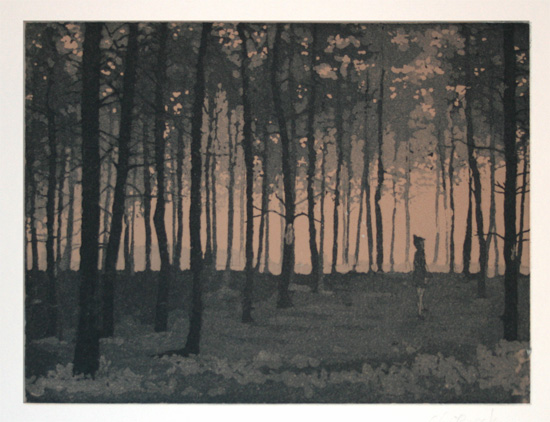art prints - Woods by Chris Beck