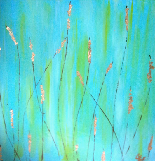 art prints - Cattails Are Calling by Christy Frank