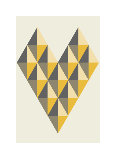 art prints - i heart diamonds by angelrabbit