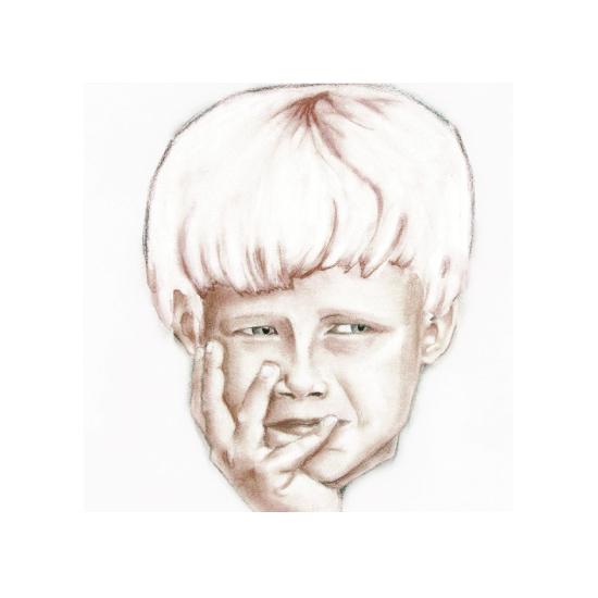 art prints - Boy Looking by margot rogers