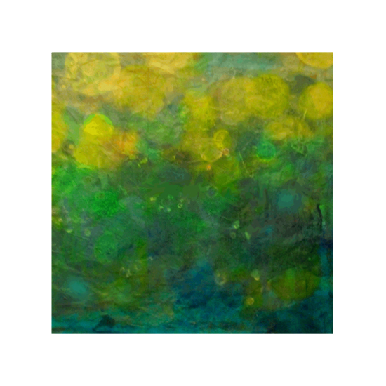 art prints - Blurry Under the Sea Abstract by Charis