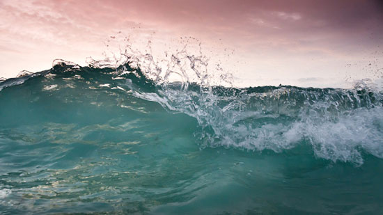 art prints - Wave Break by Justin Kitrosser