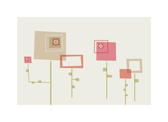 art prints - Geometry Garden by Anais Lee