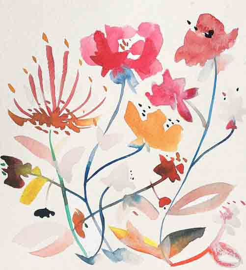art prints - Bohemian garden no.2 by Kiana Mosley