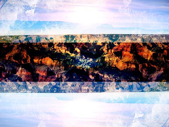 art prints - Grand Canyon collage by Bryan Clocker