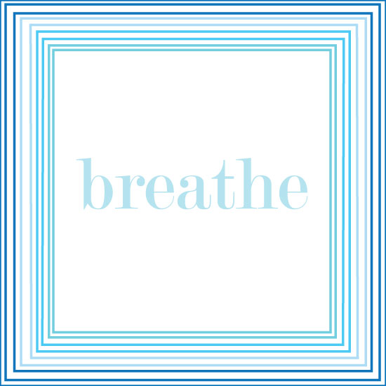 art prints - Just Breathe by Monica Birakos