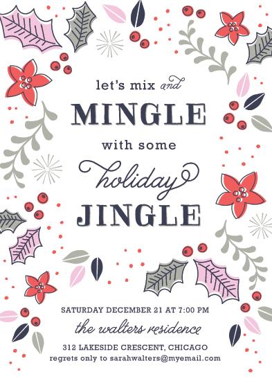 party invitations - Mingle Jingle by Melanie Severin