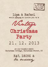 Vintage Christmas Postc... by Lisa Busby