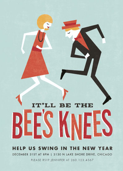 party invitations - Bee's Knees by Jessie Steury