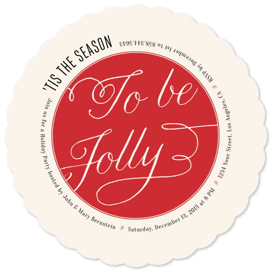 party invitations - 'Tis The Season Ornament by Barney Design