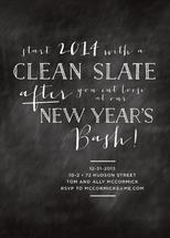 Clean Slate New Year by Design Corral
