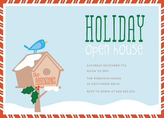 party invitations - holiday open house by Greetings