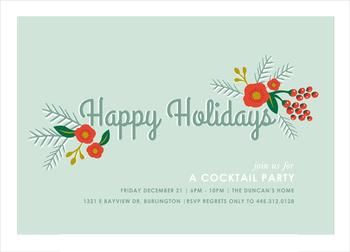 happy holiday cocktails