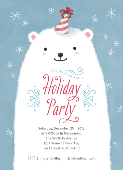 - Polar Bear Party by Four Wet Feet Studio