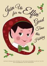 Naughty and Nice Elf by Julie Thompson