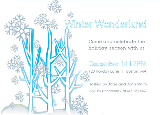 party invitations - winter wonderland party invitations at minted, Party invitations