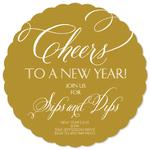 Cheers to a New Year by Hazel and Bright
