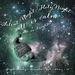 Silent Night Nebula by Adrienne Berry