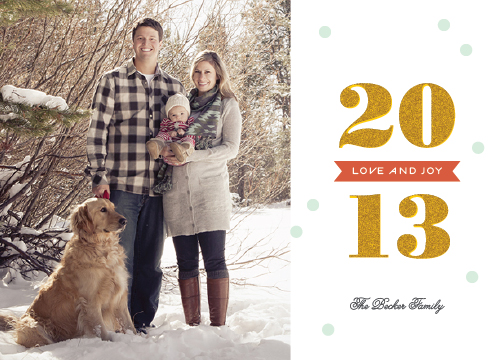 holiday photo cards - All That Glitters by Sandra Picco Design