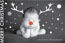 Red-nosed Baby #2 by Karina Padilla-Robinson