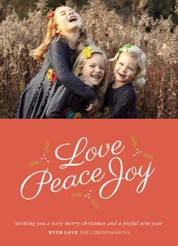 Love Peace & Joy