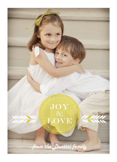 holiday photo cards - Pure Love by Petra Kern