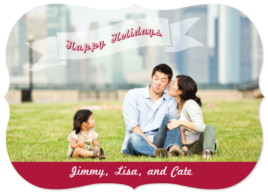 holiday photo cards - Happy Holidays by Lauren Rust