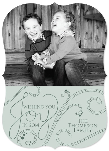 holiday photo cards - A Joyous Year by Kayla Thompson
