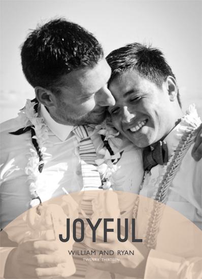 holiday photo cards - Joyful by Caitlin Rolls
