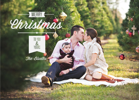 holiday photo cards - To You & Yours by Lauren Rust