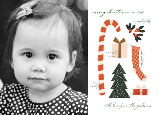 holiday photo cards - Christmas Collage by Emily Ranneby
