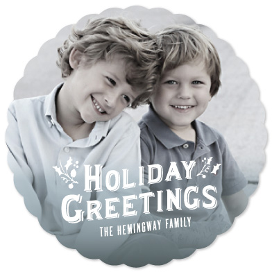 holiday photo cards - Gentle Mist by Katie Wahn