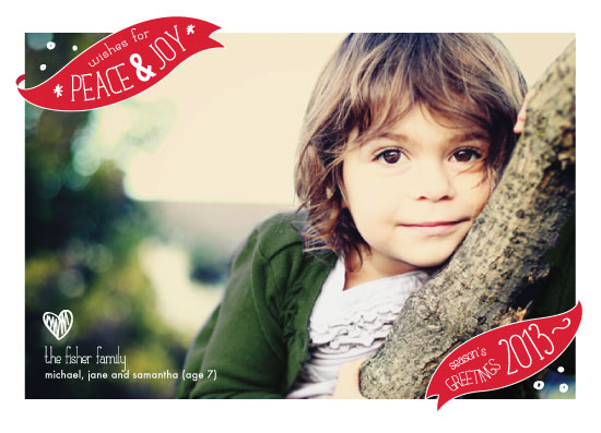 holiday photo cards - Festive Banners by Josh Wintersteen